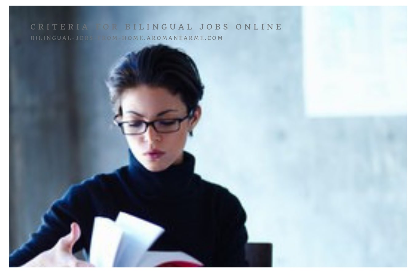 Bilingual jobs from home for Spanish and English speakers